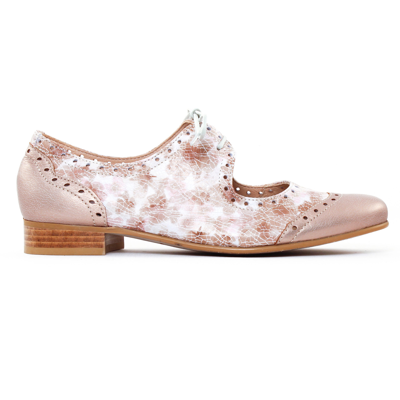 Chaussures à lacets COSTA COSTA cuir blanc 38 fODZFR5y