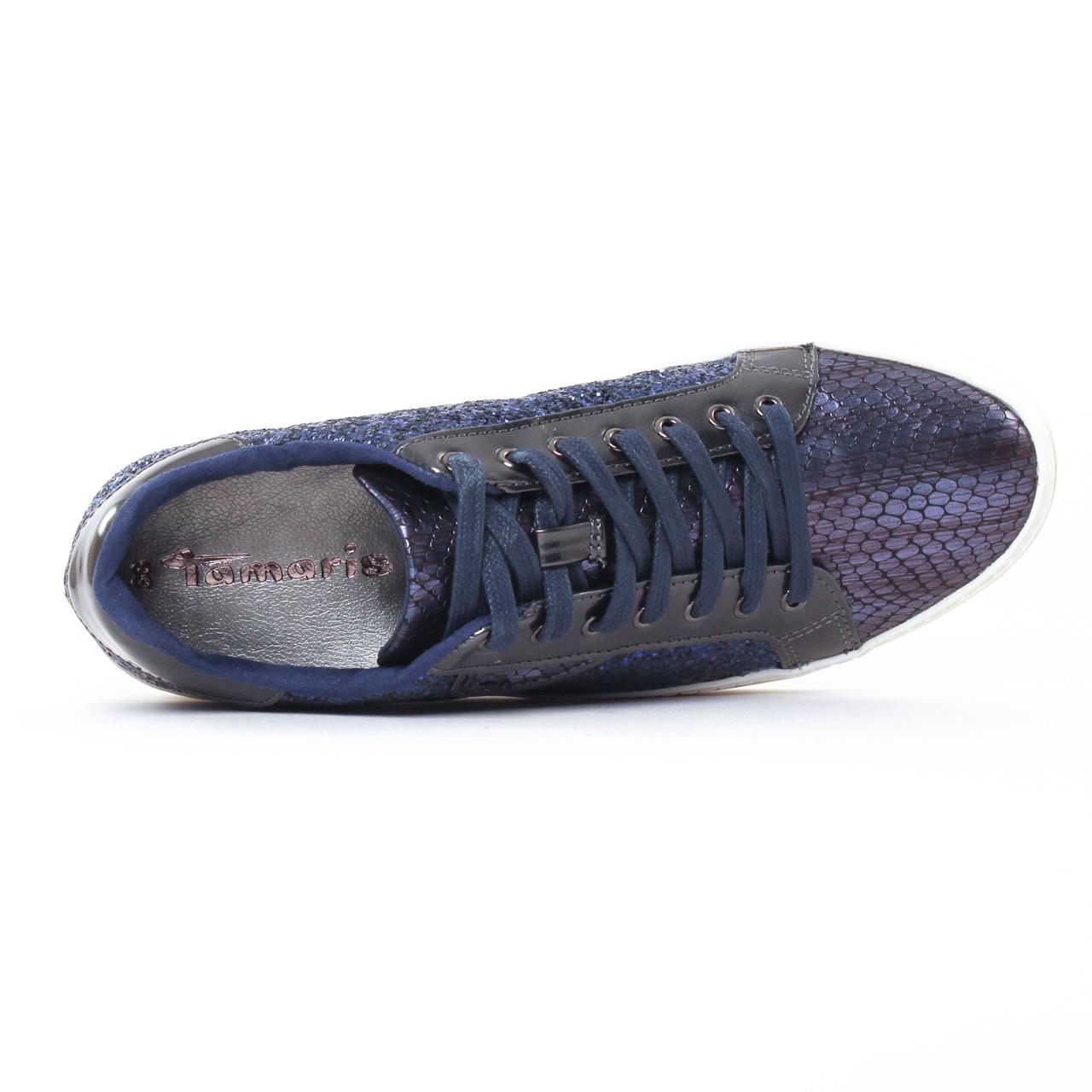 Baskets Tamaris bleu marine
