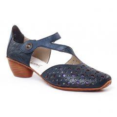 trotteurs-babies bleu marine: même style de chaussures en ligne pour femmes que les Rieker