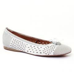ballerines-confort blanc: même style de chaussures en ligne pour femmes que les Tamaris