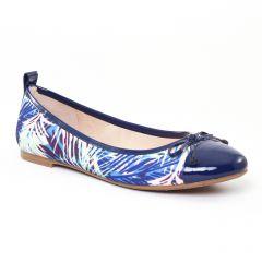 Chaussures femme été 2017 - ballerines JB Martin bleu
