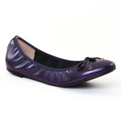 ballerines bleu violet: même style de chaussures en ligne pour femmes que les Caprice
