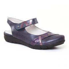 babies-talons-compenses bleu marine: même style de chaussures en ligne pour femmes que les Dorking
