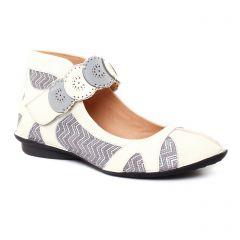 ballerines-confort beige argent: même style de chaussures en ligne pour femmes que les Fugitive