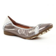 ballerines gris argent: même style de chaussures en ligne pour femmes que les Scarlatine