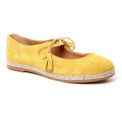 Chaussures femme été 2017 - ballerines Scarlatine jaune