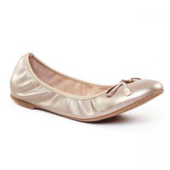 Chaussures femme été 2017 - ballerines JB Martin or doré