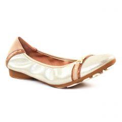 ballerines or doré: même style de chaussures en ligne pour femmes que les Tamaris