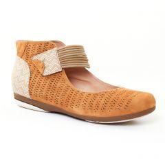 ballerines marron gris argent: même style de chaussures en ligne pour femmes que les Tamaris
