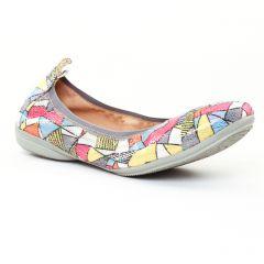 Fugitive Nozy Pink : chaussures dans la même tendance femme (ballerines multicolore) et disponibles à la vente en ligne