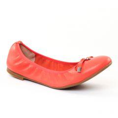 Chaussures femme été 2017 - ballerines JB Martin rose rouge
