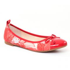 ballerines rouge: même style de chaussures en ligne pour femmes que les Tamaris