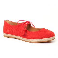 Chaussures femme été 2017 - ballerines Scarlatine rouge