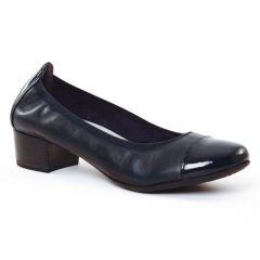 ballerines-talon bleu marine: même style de chaussures en ligne pour femmes que les Marco Tozzi