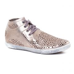 baskets-mode marron doré: même style de chaussures en ligne pour femmes que les Mamzelle