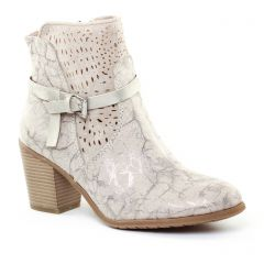 boots beige marron or: même style de chaussures en ligne pour femmes que les Scarlatine