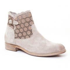 boots beige: même style de chaussures en ligne pour femmes que les Tamaris
