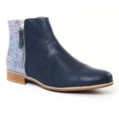 Chaussures femme été 2017 - boots CostaCosta bleu marine