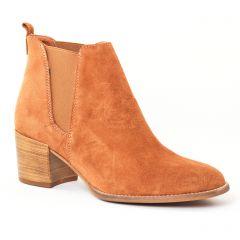 boots-chelsea marron: même style de chaussures en ligne pour femmes que les Ume - Un Matin D'été
