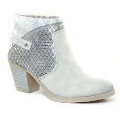 boots gris argent: même style de chaussures en ligne pour femmes que les Marco Tozzi