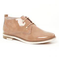 bottines-a-lacets beige: même style de chaussures en ligne pour femmes que les Marco Tozzi