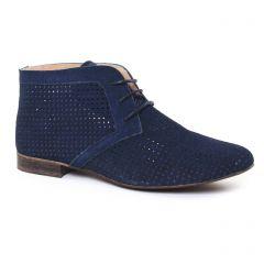 bottines-a-lacets bleu: même style de chaussures en ligne pour femmes que les Tamaris