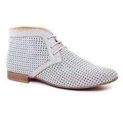 bottines-a-lacets gris: même style de chaussures en ligne pour femmes que les Scarlatine