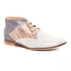bottines-a-lacets multicolore: même style de chaussures en ligne pour femmes que les Scarlatine