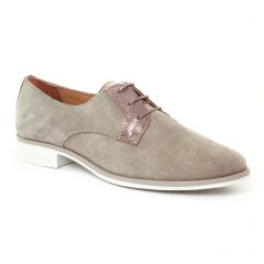 derbys beige taupe: même style de chaussures en ligne pour femmes que les Scarlatine