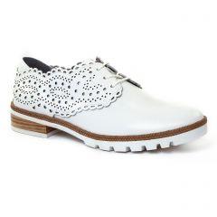 Chaussures femme été 2017 - derbys Mamzelle blanc