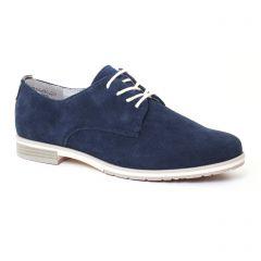 Marco Tozzi 23211 Navy : chaussures dans la même tendance femme (derbys bleu marine) et disponibles à la vente en ligne