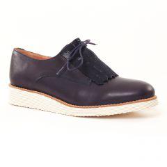 derbys bleu marine: même style de chaussures en ligne pour femmes que les Jb Martin