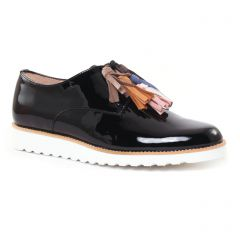 Chaussures femme été 2017 - derbys compensées CostaCosta noir
