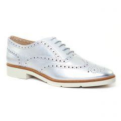 Chaussures femme été 2017 - derbys JB Martin gris argent