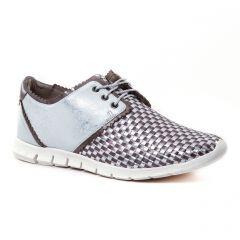 derbys gris gris argent: même style de chaussures en ligne pour femmes que les Mamzelle