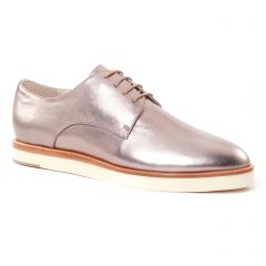derbys mauve doré: même style de chaussures en ligne pour femmes que les Marco Tozzi