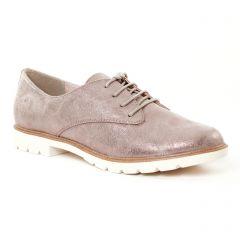 derbys marron doré: même style de chaussures en ligne pour femmes que les Tamaris