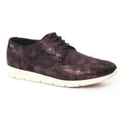 derbys noir doré: même style de chaussures en ligne pour femmes que les Mtng