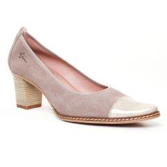 Chaussures femme été 2017 - escarpins Dorking beige