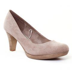 escarpins beige: même style de chaussures en ligne pour femmes que les Marco Tozzi
