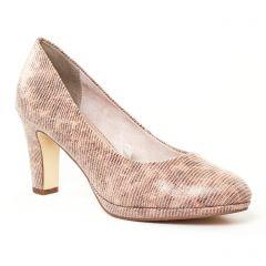 escarpins beige marron: même style de chaussures en ligne pour femmes que les Marco Tozzi