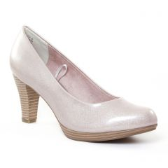 escarpins beige rose doré: même style de chaussures en ligne pour femmes que les Tamaris