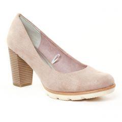 escarpins beige rose doré: même style de chaussures en ligne pour femmes que les Marco Tozzi