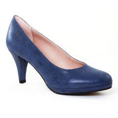 escarpins bleu: même style de chaussures en ligne pour femmes que les Tamaris
