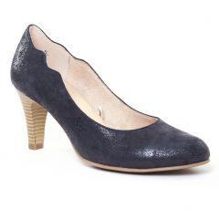 escarpins bleu marine: même style de chaussures en ligne pour femmes que les Caprice