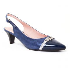 Chaussures femme été 2017 - escarpins Dorking bleu marine