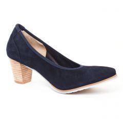 Chaussures femme été 2017 - escarpins Perlato bleu marine