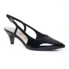 escarpins-brides noir: même style de chaussures en ligne pour femmes que les Marco Tozzi