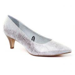 Chaussures femme été 2017 - escarpins tamaris gris argent