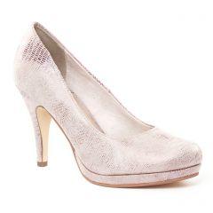 escarpins rose doré: même style de chaussures en ligne pour femmes que les Tamaris